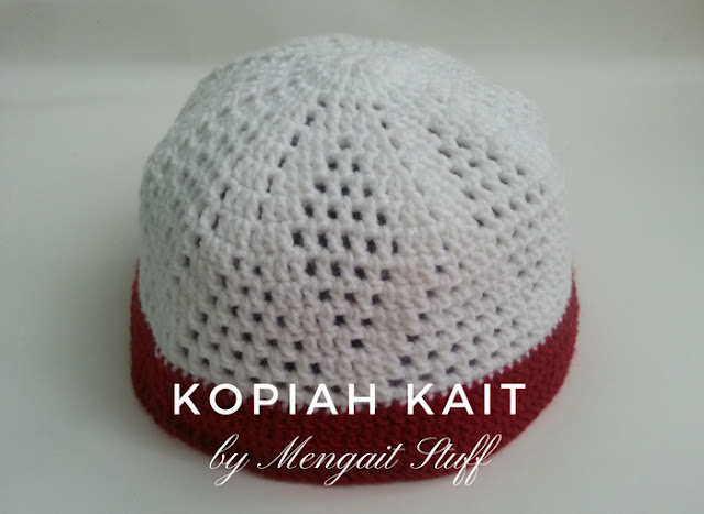 Kopiah kait for charity mengait stuff kopiah kait pattern 7 ccuart Image collections