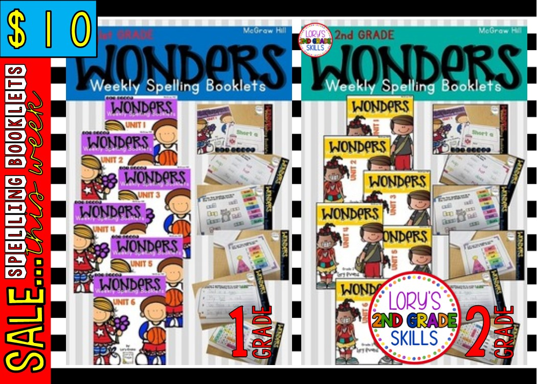 Weekly Spelling Booklet Deal | Lory's Page | Bloglovin'