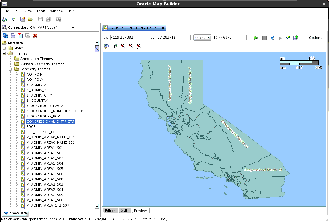 Map Your Data Visualization Using a GeoJSON Oracle Database
