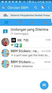 BBM MOD THE LEGEND OF PEGELINUX v2.13.1.14 Apk Terbaru