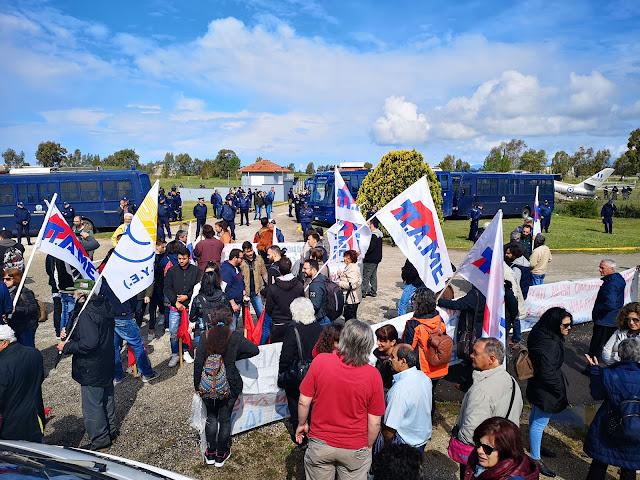 Πρέβεζα: Με επιτυχία πραγματοποιήθηκε η πορεία Ειρήνης στη βάση του Ακτίου