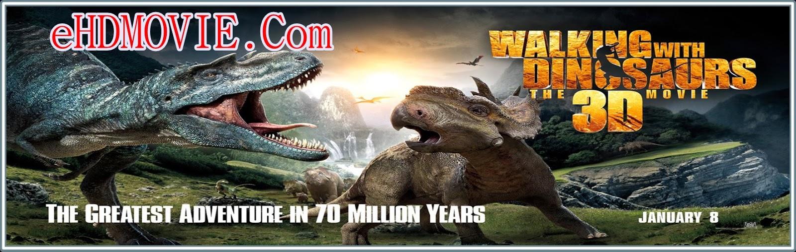 Walking With Dinosaurs 2013 Full Movie Dual Audio [Hindi – English] 720p - 480p ORG BRRip 400MB - 800MB ESubs Free Download