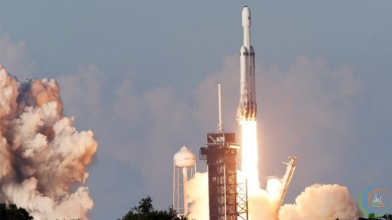 SpaceX Falcon Heavy Rocket was successfully launched