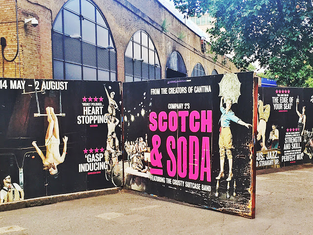Scotch & Soda circus show, London Wonderground - theatre blog