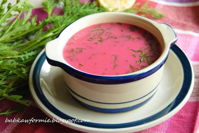 botwinka - pyszna zupa na lato