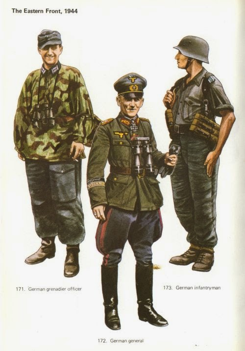 Late War German Infantry Uniforms Pictures 3