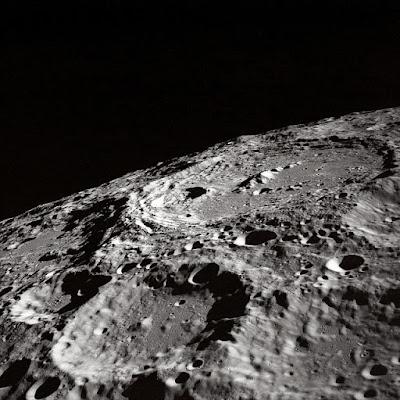 Los cráteres de la Luna