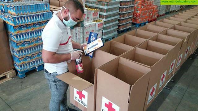 Cruz Roja hace un balance de los servicios prestados frente al COVID-19 en este primer mes