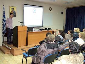 Οι εκπαιδευόμενοι του ΣΔΕ (Α κύκλου) ενημερώνονται για θέματα προστασίας και ασφάλειας