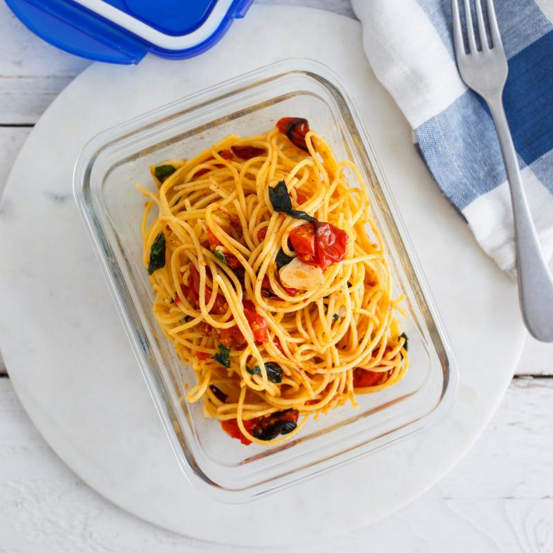 Roasted Cherry Tomato Spaghetti...