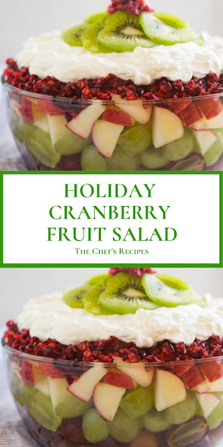 HOLIDAY CRANBERRY FRUIT SALAD