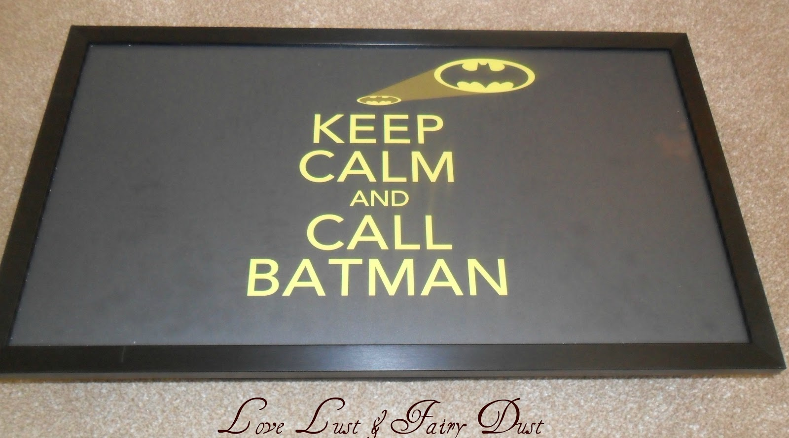 keep calm and call batman laptop tray from Kico