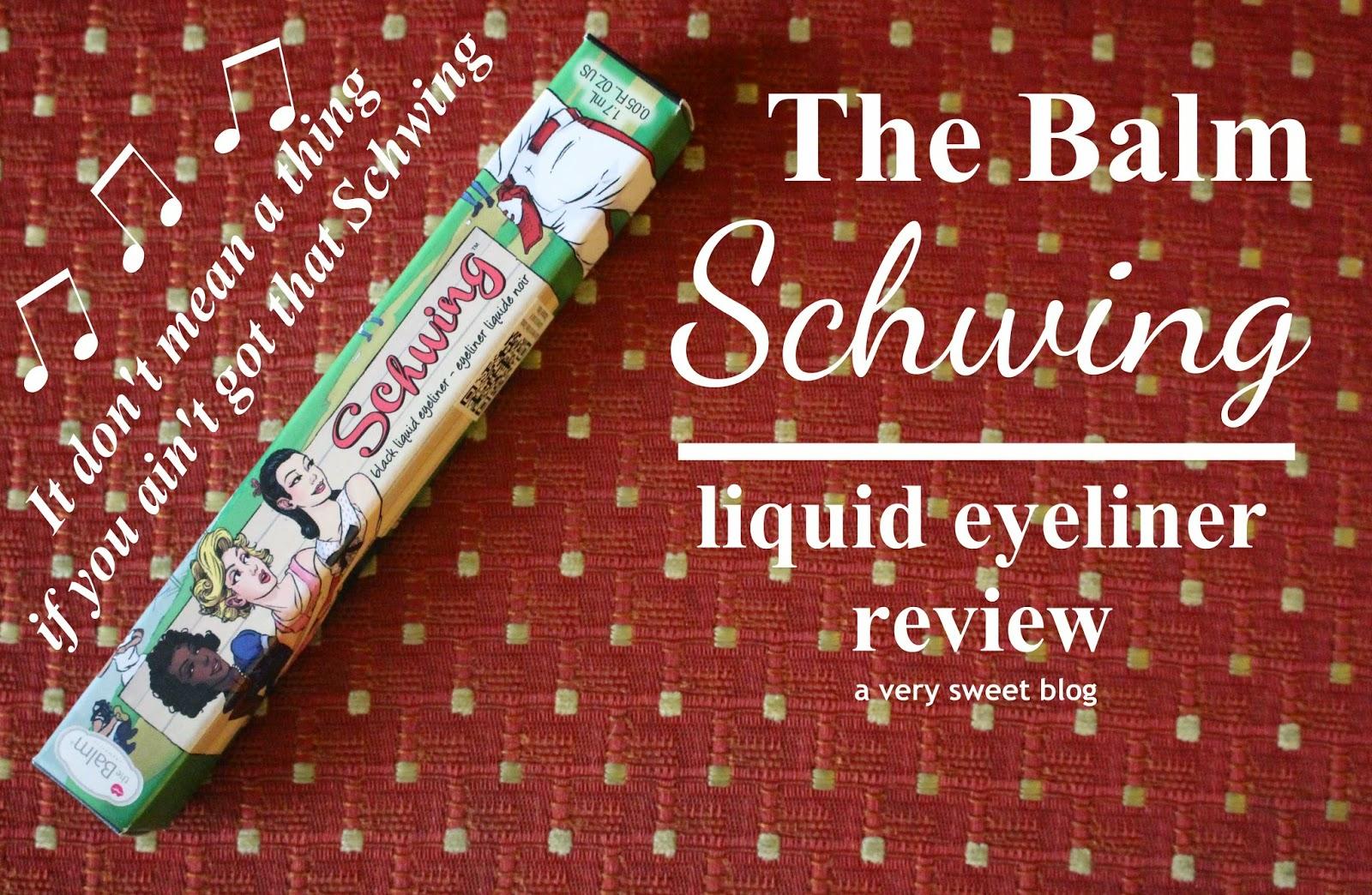 Schwing Liquid Eyeliner by theBalm #22