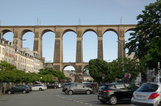 Morlaix viaje Bretaña viaducto que ver