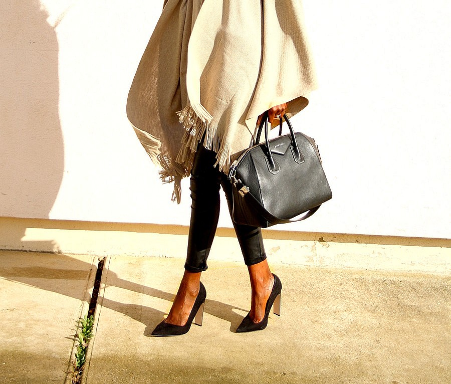 cape-river-island-pantalon-cuir-givenchy-antigona-sac