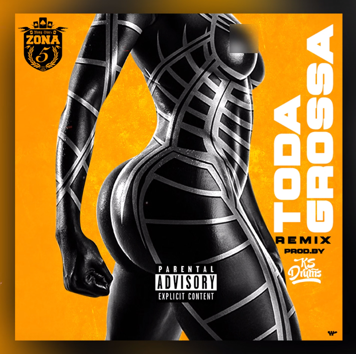 Zona 5 - Toda Grossa [Remix] (Prod. Por Ks Drums) // Download