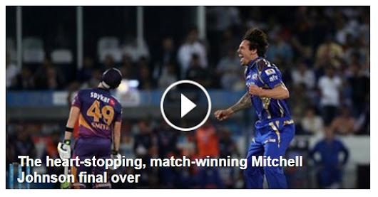 The heart-stopping and nail biting last over of the IPL Final