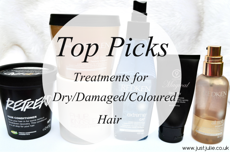 Top Picks | Treatments For Dry/Damaged/Coloured Hair