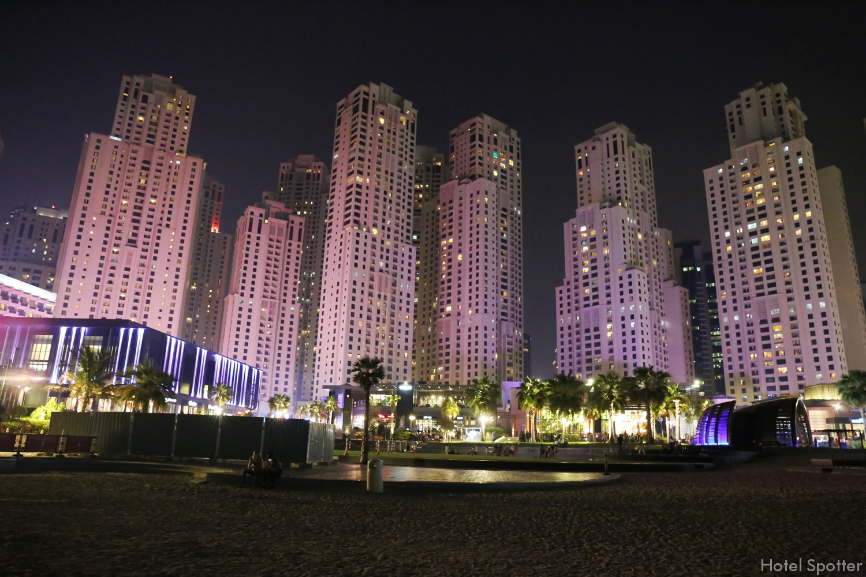 InterContinental Dubai Marina - recenzja hotelu - plaza JBR