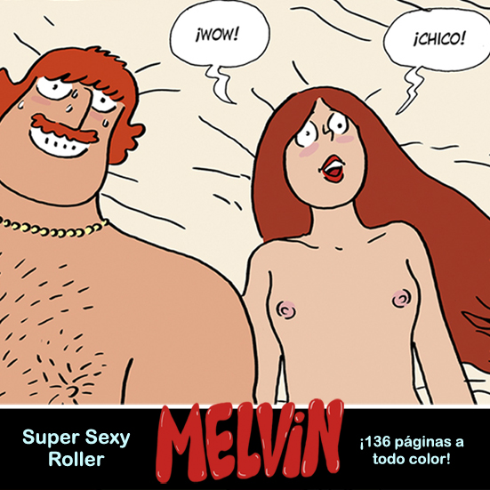 shoo bop Melvin illustration drawing comic artur laperla