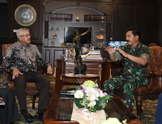 Panglima TNI Silaturahmi Dengan Ketua Mahkamah Agung