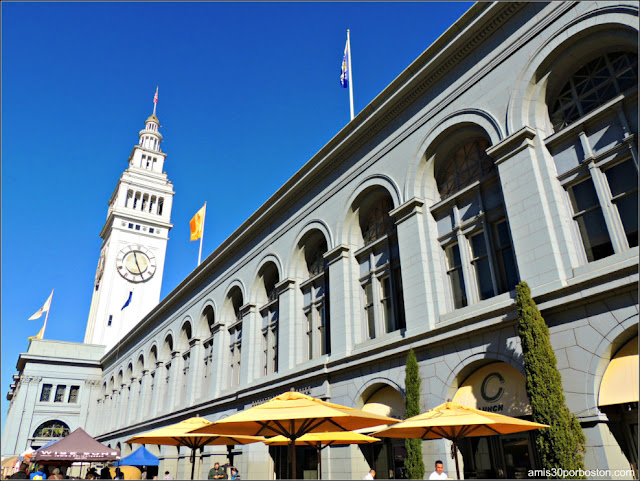 Ferry Building, Embarcadero