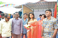 Sakshi Agarwal  in Orange Saree at Inauguration of Handloom And Handicraft exhibition ~  Exclusive 32.JPG