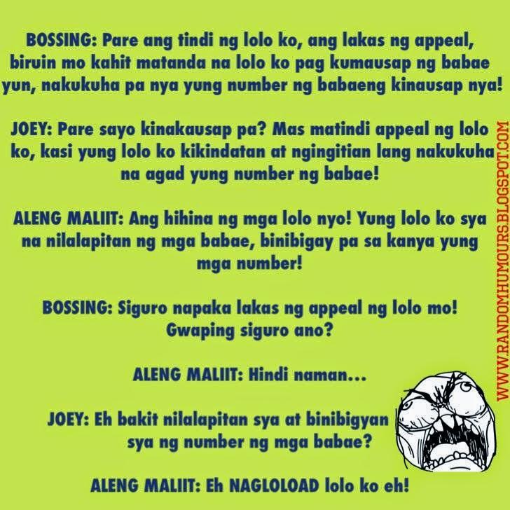 Random Humours: Wala kayo sa Lolo ko with Aleng Maliit