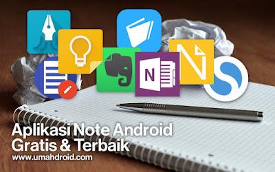 Aplikasi Note Android Terbaik