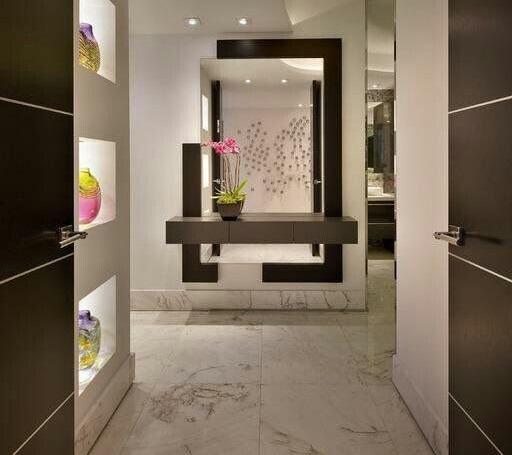 Best 45 modern wall mirror design ideas for hallway decor 2019