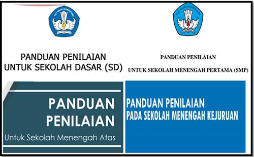 Pedoman Penilaian Kurikulum 2013 Sekolah SD SMP SMA SMK 2017