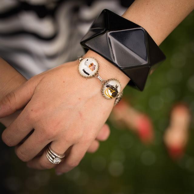 sporting jewelry