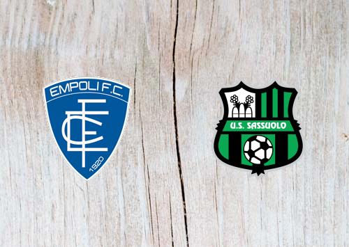 Empoli vs Sassuolo - Highlights 17 February 2019