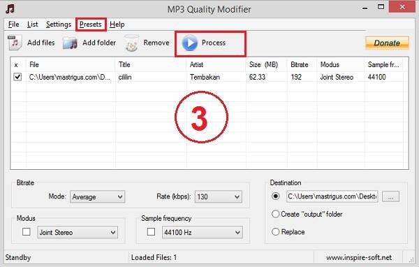 Cara Mengecilkan Ukuran File MP3 Tanpa Merubah Kualitas