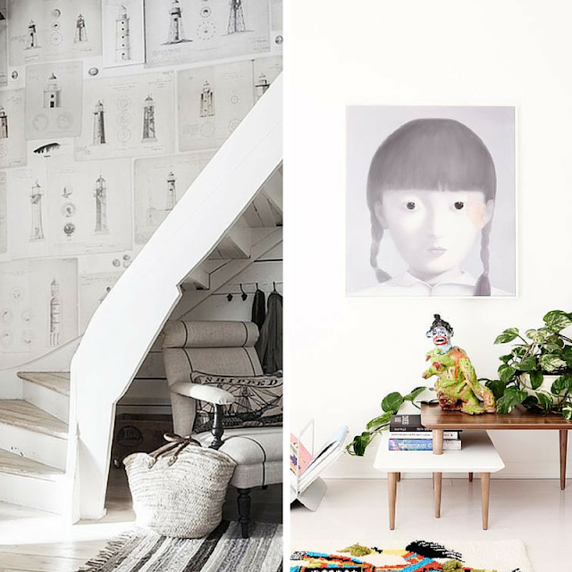 wall decoration ideas • the Round Button blog