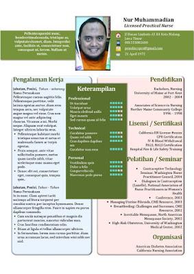 Jasa Desain CV
