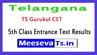 Telangana TS Gurukul CET 5th Class Entrance Test Results 2017