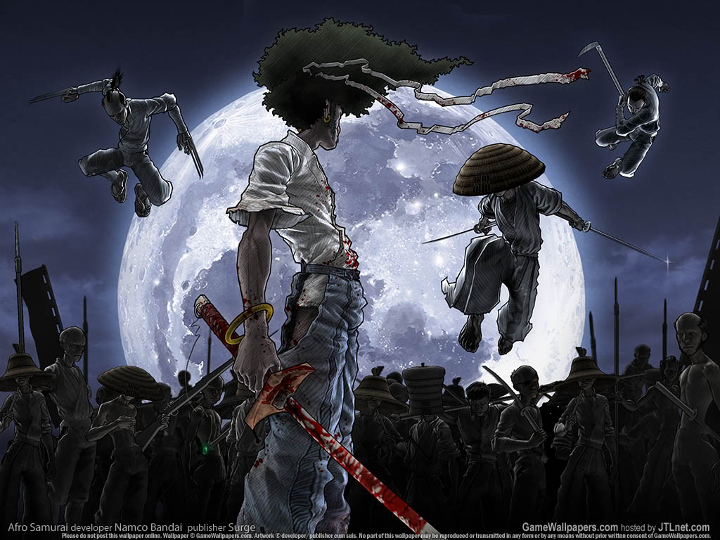 Darcy Cruz: afro samurai wallpaper