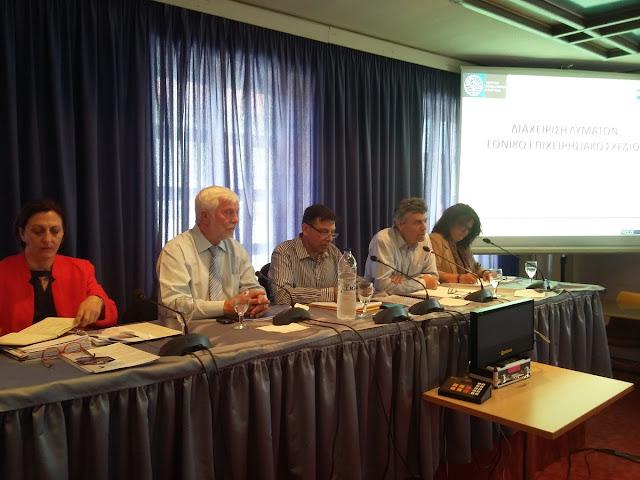"""Πέτρος Τατούλης """"Αναγκαίες οι θεσμικές μεταρρυθμίσεις για τη δημιουργία λειτουργικών υποδομών λυμάτων"""