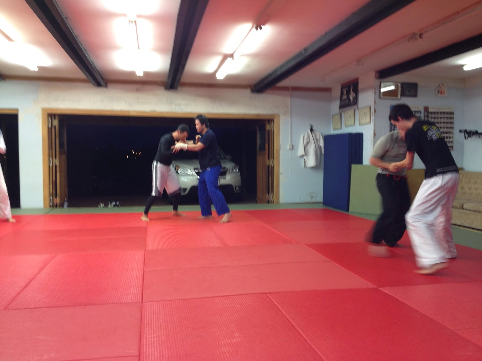 Auckland BJJ: Training report: nogi takedowns and back escape