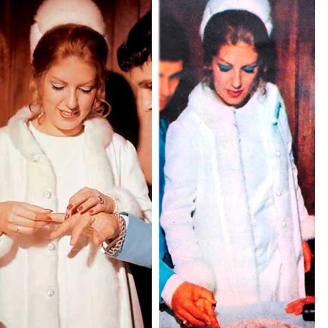 Roberto Carlos e Nice casamento