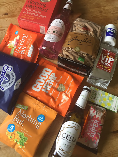 April 2017 Degustabox contents