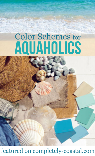 Color Schemes from the Ocean and Beach
