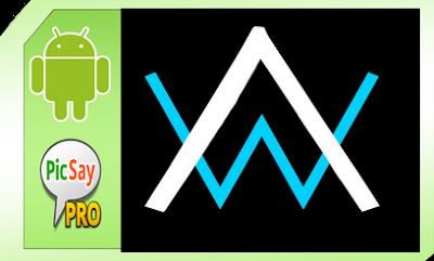 Membuat Logo Nama Alan Walker