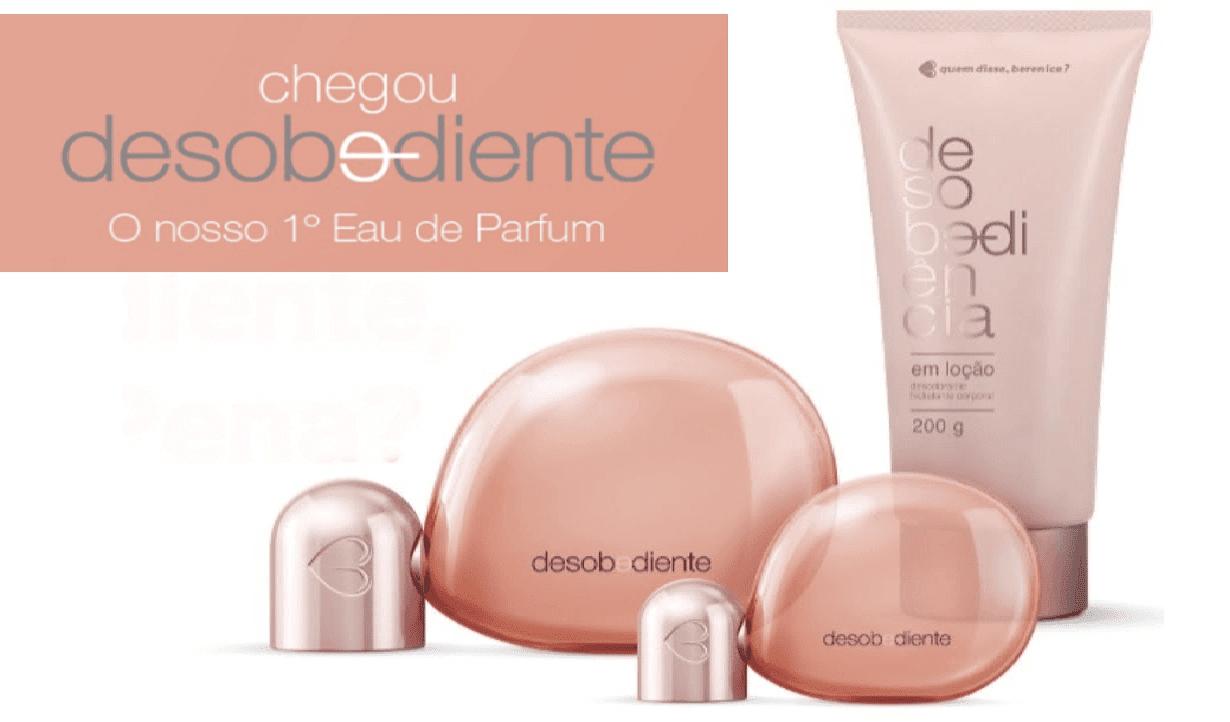 Quem disse, Berenice? lança Desobediente, o primeiro - eau de perfum da marca!