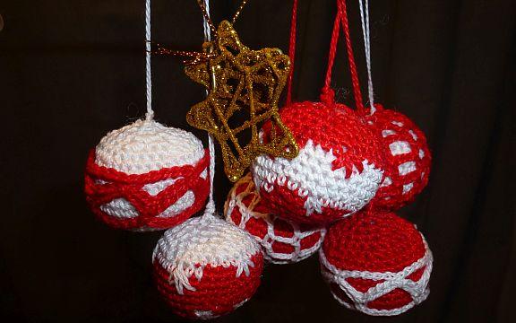 Ganchillo decoración navideña