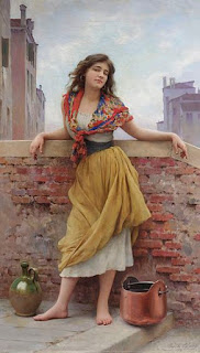 The Water Carrier, celebrating the beauty of ordinary Venetian girls