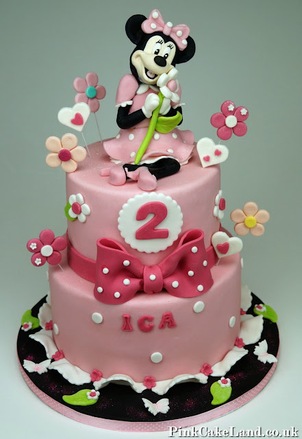 Minnie Mouse Birthday Cake London