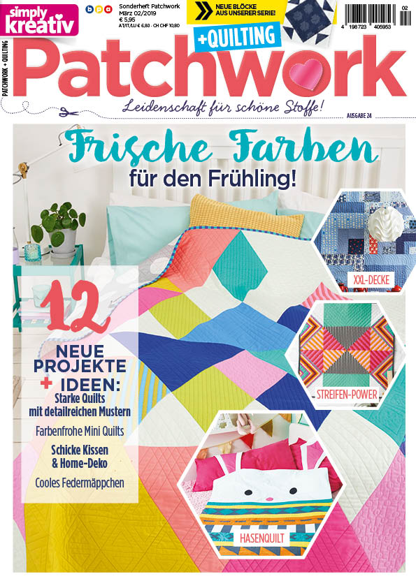 Featured in Current Simply Kreativ (German) Magzine 2/19