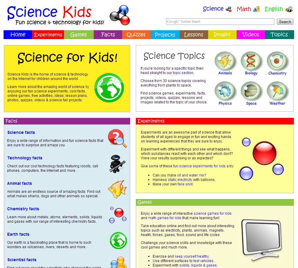 Science Teen Web Sites 26